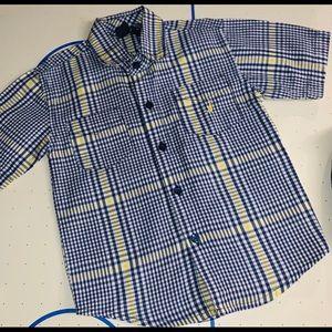 Nautica Boys Short Sleeve Button Down • Size 3T